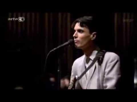 Talking Heads   Psycho Killer Rádio Live 1984