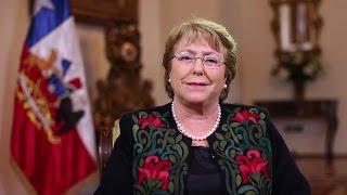 Michelle Bachelet: Cuando la equidad sea un hecho y no un anhelo...