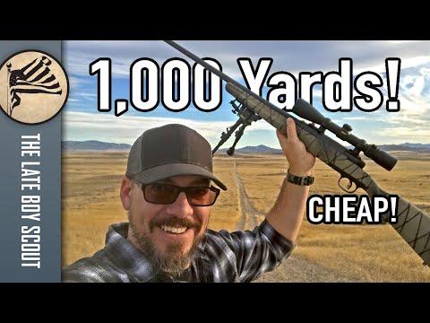 1,000 Yards CHEAP! Savage Axis II XP 6.5 Creedmoor