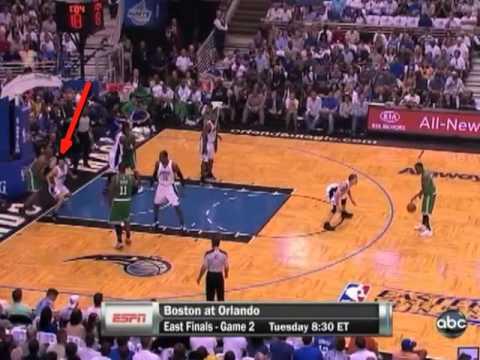 2010 NBA Playoffs - Celtics vs. Magic Game 1 - Paul Pierce vs. Vince Carter