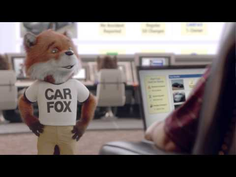 NEW CARFAX Ad Featuring CAR FOX and Free CARFAX Reports
