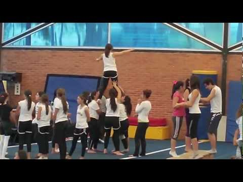 Learning to do a Scorpion Stunt! Travel Video