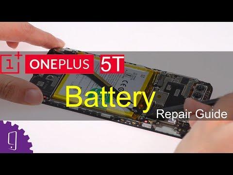 OnePlus 5T Battery Repair Guide