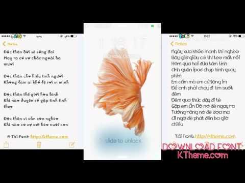 HD cài hình nền động Live Wallpaper của iPhone 6S cho iPhone thấp hơn