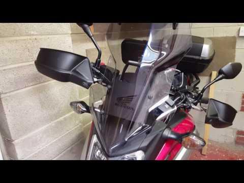 Honda NC750x upgrades part 2