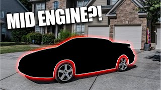 MY NEW MID-ENGINE SPORTS CAR!