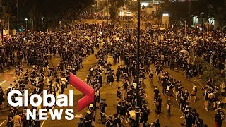 Hong Kong Protest July 24,2019 Wednesday