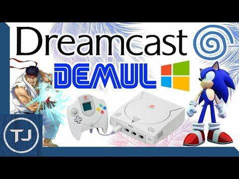 Sega Dreamcast Emulator For PC! Windows 10! (DEMUL)