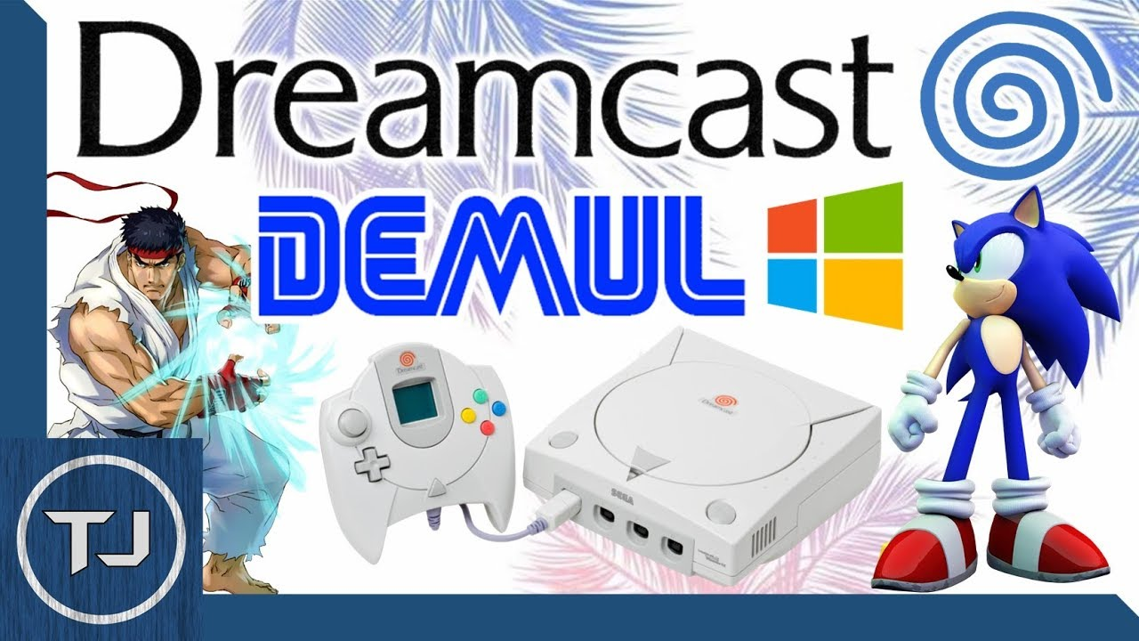 Sega Dreamcast Emulator For PC! Windows 10! (DEMUL) - YouTube