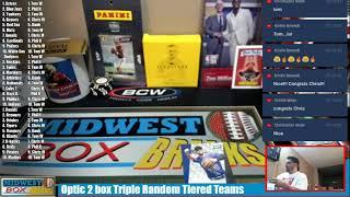 Topps Tribute Baseball Case and Donruss Football 6 box