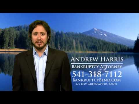 Bankruptcy TV Ad Andrew Harris Bend Oregon