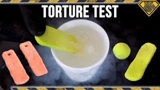 Proto-Putty in Liquid Nitrogen & Other Crazy Tests! by : The King of Random