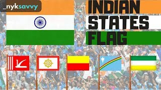 Which INDIAN STATES have FLAG ?   NYK Savvy