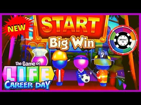 NEW SLOT The Game Of Life Career Day Slot Machine GREAT BONUS ⚡️Superlock Lock It Link Eureka - 동영상