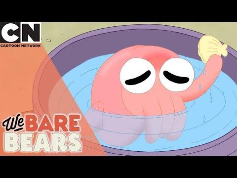 We Bare Bears | Inky Little Squid | Cartoon Network