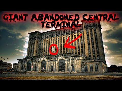 ABANDONED GIANT TRAIN STATION! EXPLORING A REAL LIFE GIANT PLAY GROUND! (FAMILY FRIENDLY)