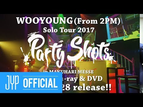 """WOOYOUNG (From 2PM) Solo Tour 2017 """"Party Shots"""" in MAKUHARI MESSE Digest Video"""