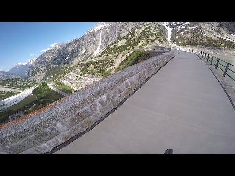 Grimselpass cycling - one of the highest paved roads in Europe