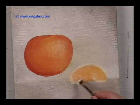 Painting An Orange 2 Fo You