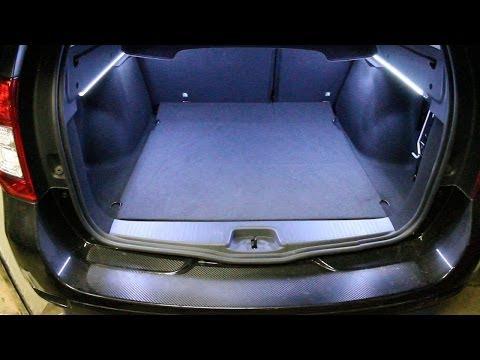 dacia duster led kofferraum zusatzbeleuchtung heckklappe doovi. Black Bedroom Furniture Sets. Home Design Ideas