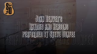 Rhymes and Reasons | Performed by Steve Dunfee