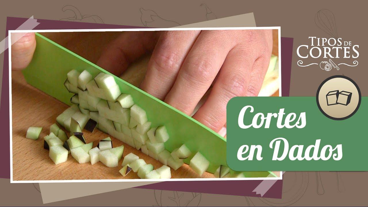 Cortes en dados t cnicas de cocina youtube - Tecnicas basicas de cocina ...