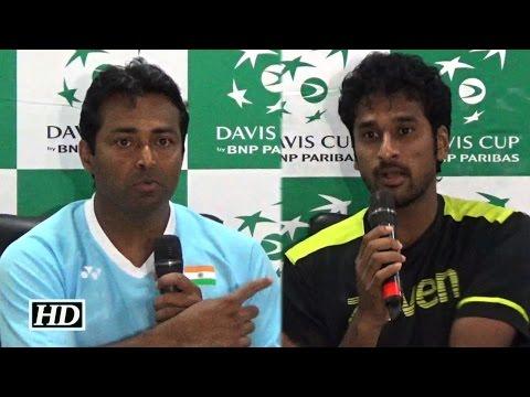 Davis Cup 2106: Saketh Myneni's Game Impresses Leander Paes