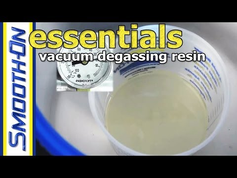 How to Remove Bubbles from Casting Resin - Vacuum Degassing | Mold Making Essential