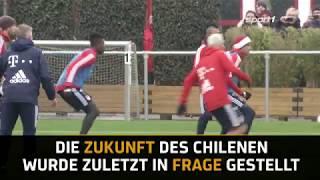 Arturo Vidal will beim FC Bayern München bleiben | SPORT1 - DER TAG
