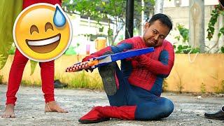 LOMBA 17 AGUSTUS BIKIN NGAKAK 🤣 Superhero Merayakan Hari Kemerdekaan