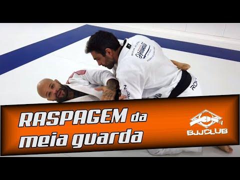 🆕 Raspagem de Meia Guarda com Michelan  🏼 👉 Jiu Jitsu - BJJCLUB