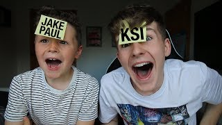 GUESS WHO CHALLENGE WITH LITTLE BROTHER!