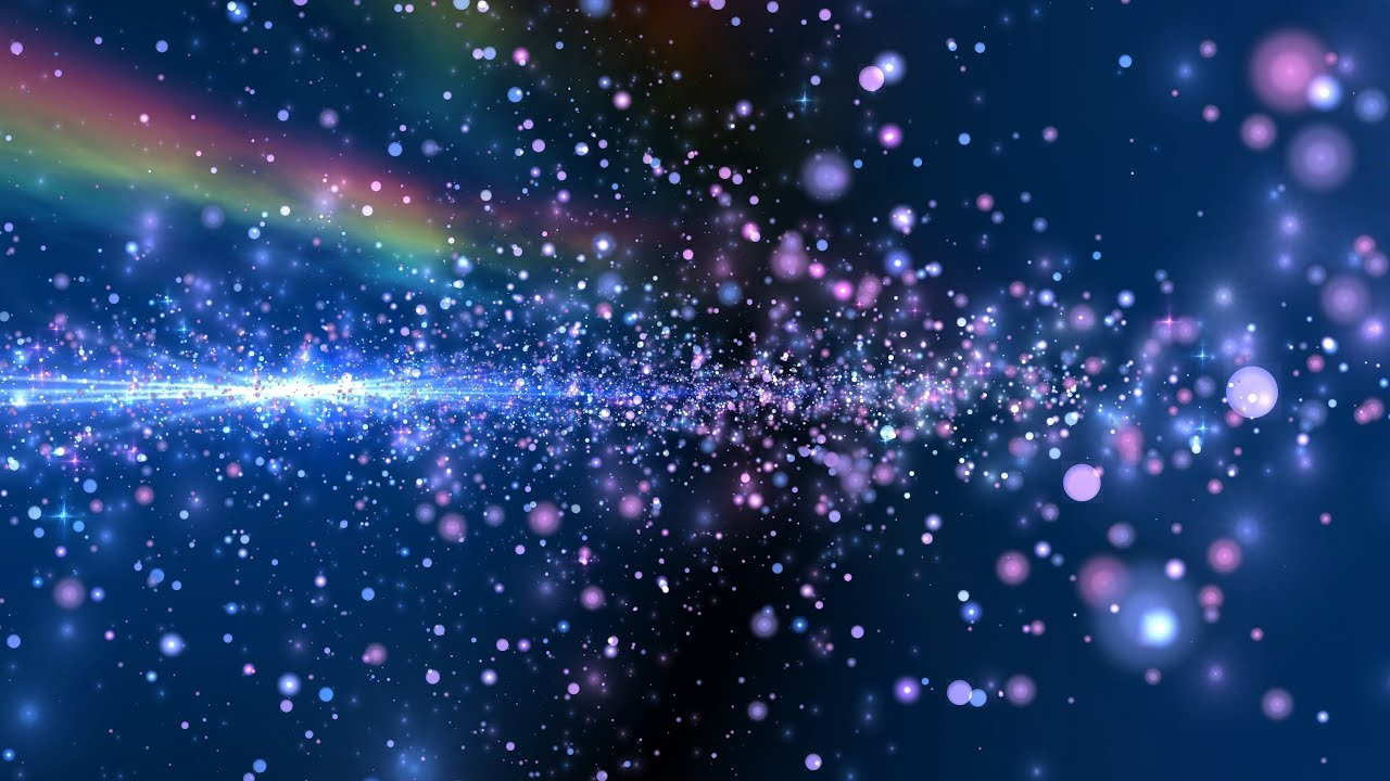 4K 10:00Min. (!!!) RAINBOW GALAXY 🌈 Relaxing Colorful ...