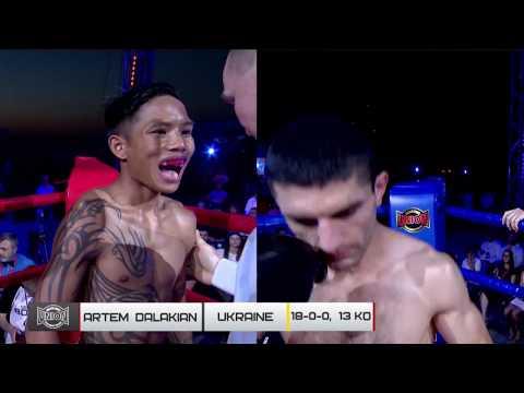 Вечер Union Boxing Promotion. Артем Далакян - Саравут Таворнхам. Полный бой (15/06/2019)