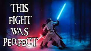The Rey VS Kylo Ren Fight MAKES COMPLETE SENSE