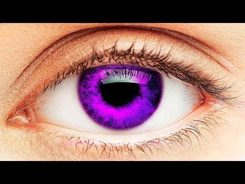 7 редких цветов глаз, которые встречаются у людей