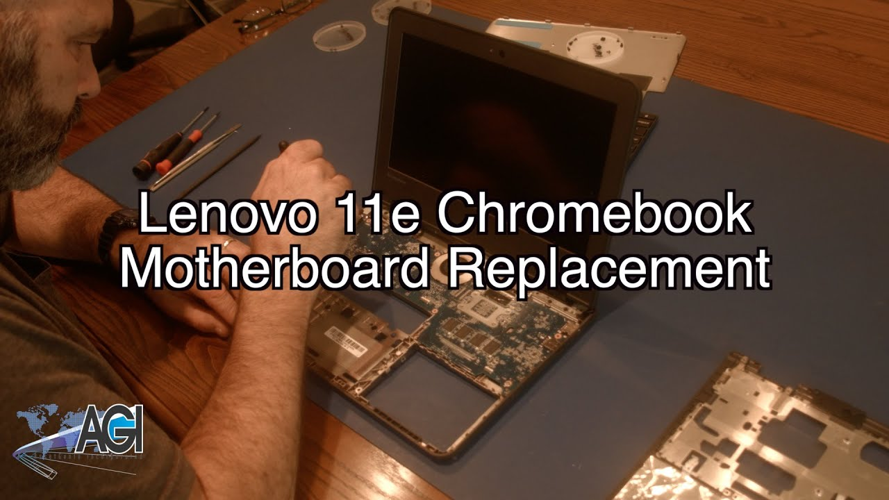 Lenovo 11e (Thinkpad) Chromebook Motherboard Replacement