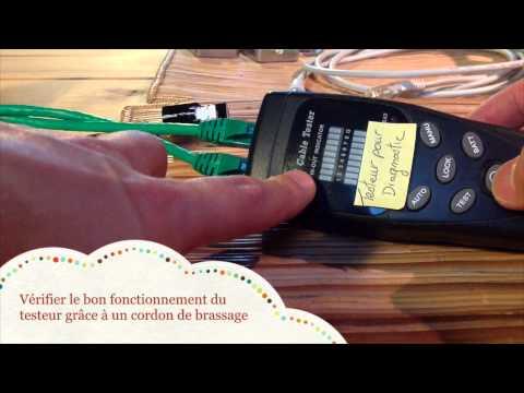 C blage d 39 un coffret vdi complet pre cable 12 rj45 et 6 doovi - Comment monter une prise electrique ...