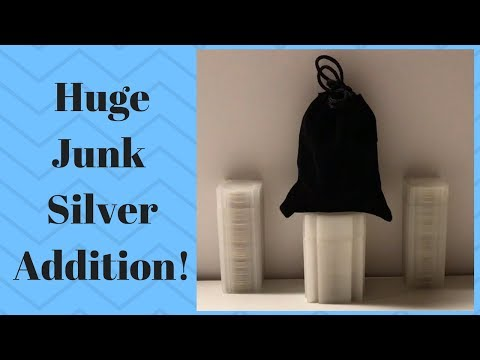 Big Junk Silver Pickup! (Plus a First for the stack!)