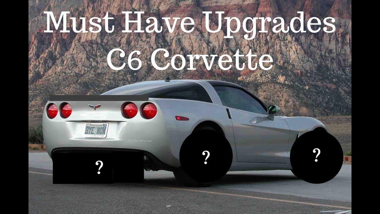 Must Have Corvette C6 Upgrades!!!
