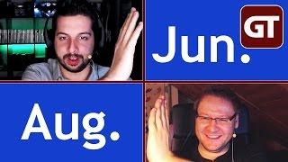 Thumbnail für Die Spiele des Jahres 2016 - Juni bis August (Michi & Fritz) - Jahresrückkblick - GT-Talk #38