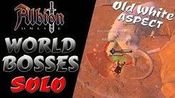 Albion Online | World Bosses | Old White Aspect - Solo Kill