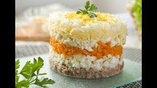 Обалденный рецепт  Салата Мимоза