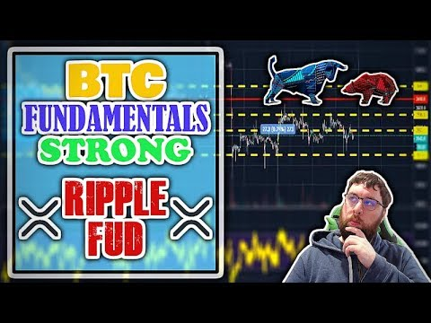 Bitcoin Fundamentals Strong Amid ETF Withdraw. Ripple FUD.