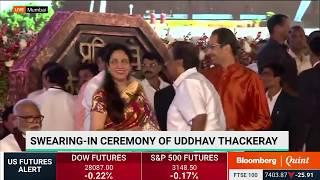 Uddhav Thackeray's Swearing-In Ceremony As Maharashtra Chief Minister