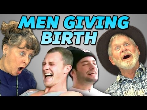 Elders React to Men Giving Birth from YouTube · Duration:  7 minutes 22 seconds