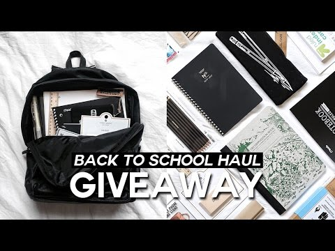 Back To School Supplies Haul 2016-2017 // Minimal & Trendy