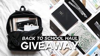 Back To School Supplies Haul 2016-2017 // Minimal & Trendy