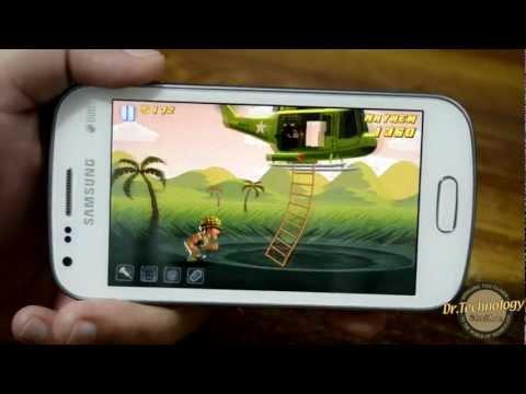 Samsung Galaxy S Duos - Gaming & Benchmarking
