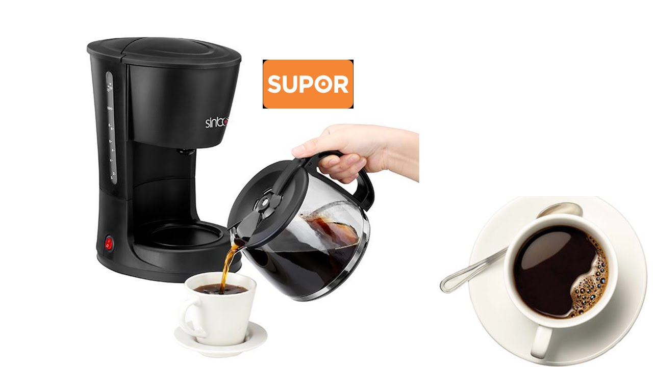 Máy Pha Cà Phê AROMA Supor SCM213 l Cách pha cà phê ngon để bán